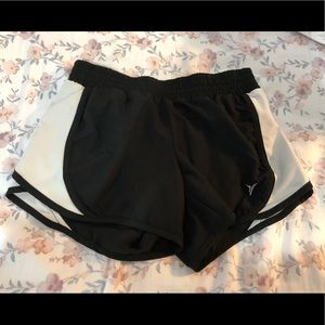Old Navy black and white running shorts. Size S.